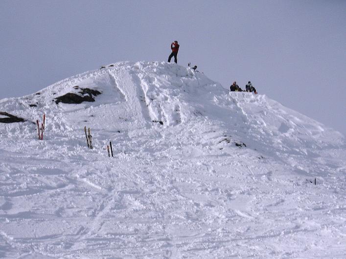 Foto: Andreas Koller / Ski Tour / Piz da Vrin (2563m) / Gipfelaufbau Piz da Vrin / 09.01.2009 00:24:59