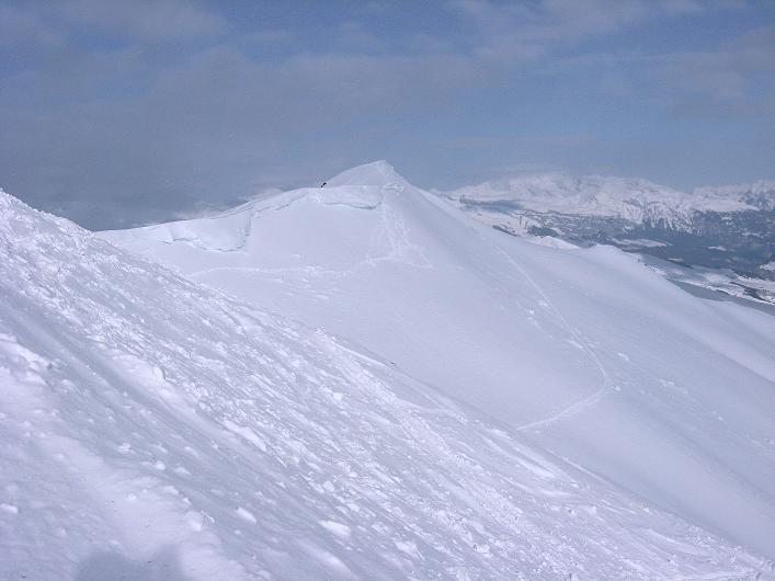 Foto: Andreas Koller / Ski Tour / Piz da Vrin (2563m) / N-Gipfel / 09.01.2009 00:24:16