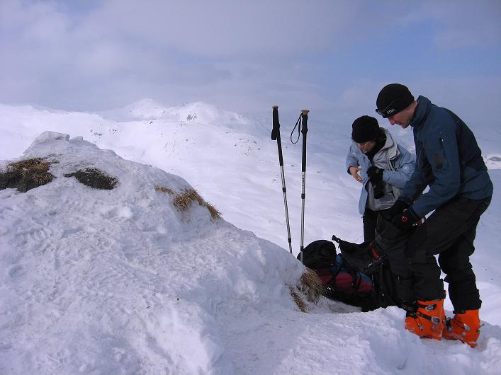 Foto: Andreas Koller / Ski Tour / Piz da Vrin (2563m) / 09.01.2009 00:23:44