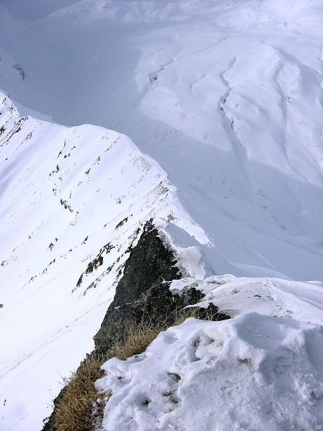 Foto: Andreas Koller / Ski Tour / Piz da Vrin (2563m) / Der W-Grat / 09.01.2009 00:23:15