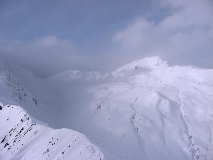Foto: Andreas Koller / Ski Tour / Piz da Vrin (2563m) / Blick nach W / 09.01.2009 00:22:26