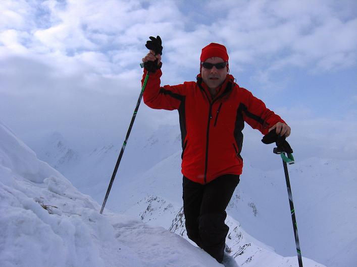 Foto: Andreas Koller / Ski Tour / Piz da Vrin (2563m) / Am Piz da Vrin / 09.01.2009 00:21:13