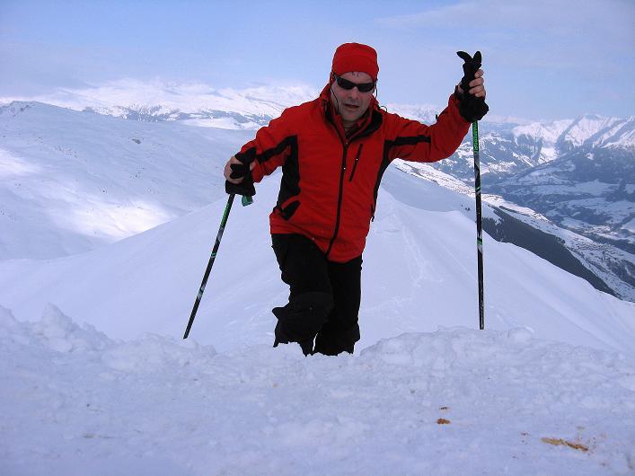 Foto: Andreas Koller / Ski Tour / Piz da Vrin (2563m) / 09.01.2009 00:20:58