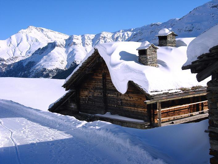 Foto: Andreas Koller / Ski Tour / Vom Zervreilasee auf das Frunthorn (3030m) / 09.01.2009 22:29:11