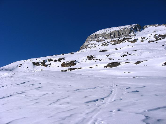 Foto: Andreas Koller / Ski Tour / Vom Zervreilasee auf das Frunthorn (3030m) / 09.01.2009 22:26:57