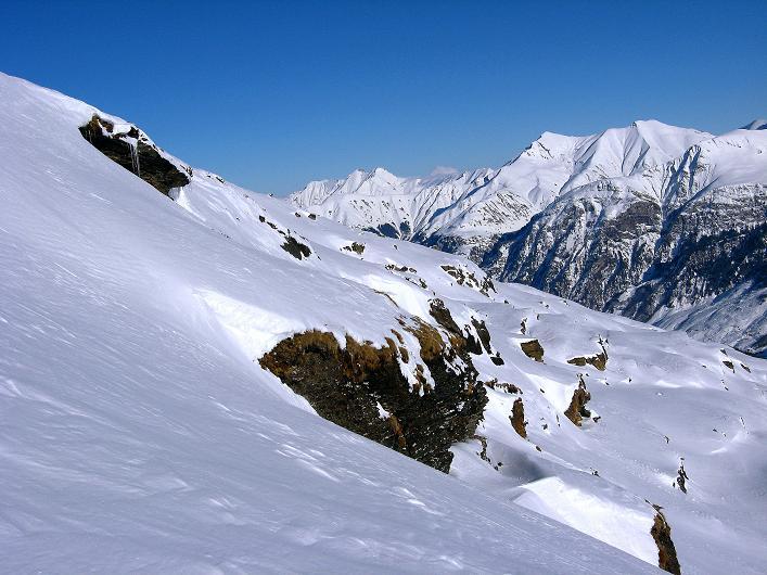 Foto: Andreas Koller / Ski Tour / Vom Zervreilasee auf das Frunthorn (3030m) / 09.01.2009 22:25:58