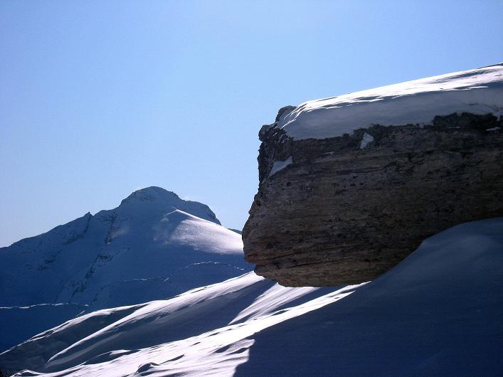 Foto: Andreas Koller / Ski Tour / Vom Zervreilasee auf das Frunthorn (3030m) / 09.01.2009 22:24:42