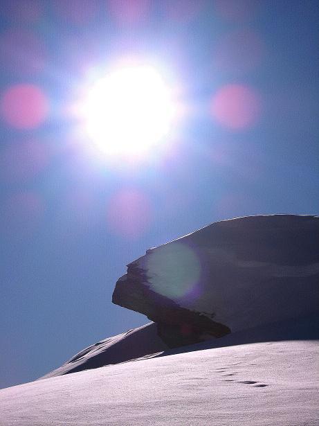 Foto: Andreas Koller / Ski Tour / Vom Zervreilasee auf das Frunthorn (3030m) / 09.01.2009 22:24:33