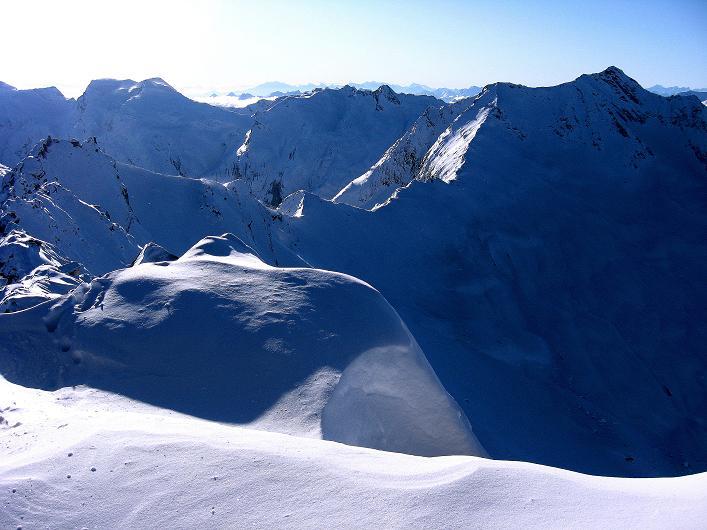 Foto: Andreas Koller / Ski Tour / Vom Zervreilasee auf das Frunthorn (3030m) / 09.01.2009 22:22:17