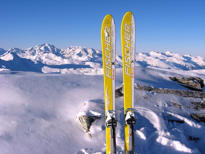 Foto: Andreas Koller / Ski Tour / Vom Zervreilasee auf das Frunthorn (3030m) / 09.01.2009 22:20:18