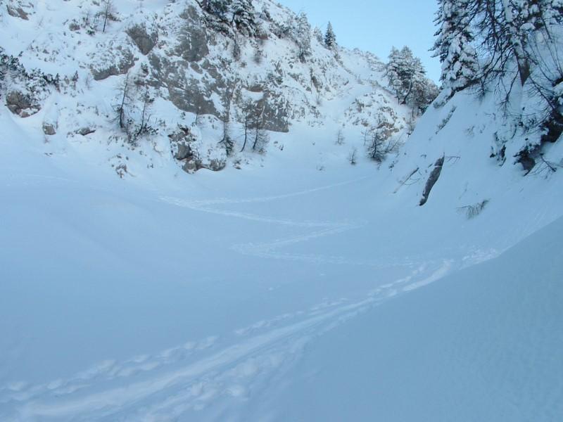Foto: Johann Kussegg / Ski Tour / Kammerlinghorn (2484m) / über der Mooswand erreiche ich den Westrücken zum Karkogel / 09.01.2009 11:23:18