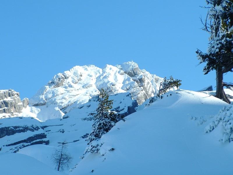 Foto: Johann Kussegg / Ski Tour / Kammerlinghorn (2484m) / Gipfel die das Kleineis umrahmen / 09.01.2009 11:28:21