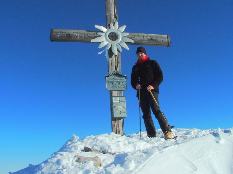 Foto: Johann Kussegg / Ski Tour / Kammerlinghorn (2484m) / am Kammerlinghorngipfel auf 2484m / 09.01.2009 11:31:42