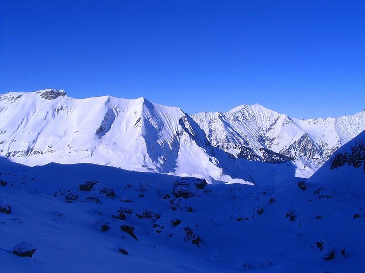 Foto: Andreas Koller / Ski Tour / Von der Engstligenalp auf das Chindbettihorn (2691m) / 09.01.2009 23:49:38