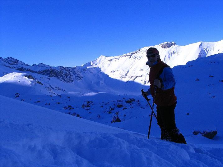 Foto: Andreas Koller / Ski Tour / Von der Engstligenalp auf das Chindbettihorn (2691m) / 09.01.2009 23:49:31