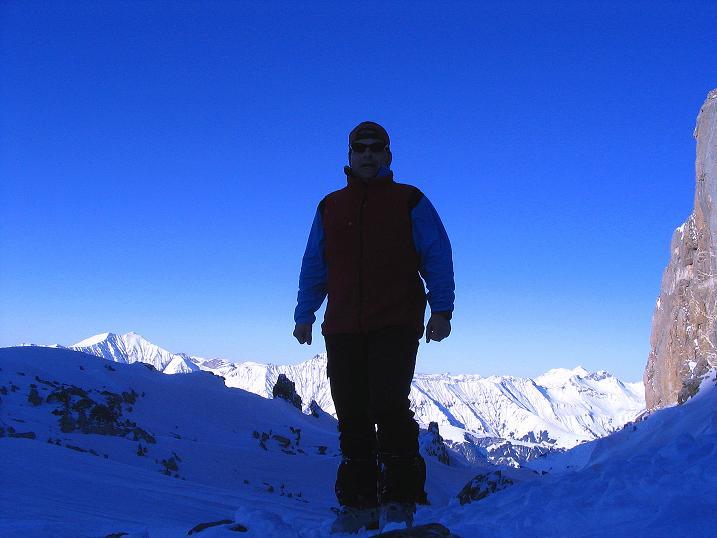 Foto: Andreas Koller / Ski Tour / Von der Engstligenalp auf das Chindbettihorn (2691m) / 09.01.2009 23:48:18