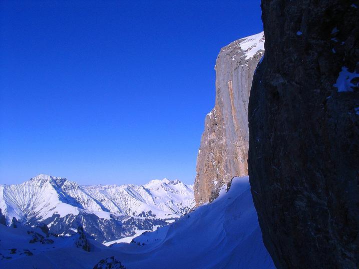 Foto: Andreas Koller / Ski Tour / Von der Engstligenalp auf das Chindbettihorn (2691m) / 09.01.2009 23:48:10