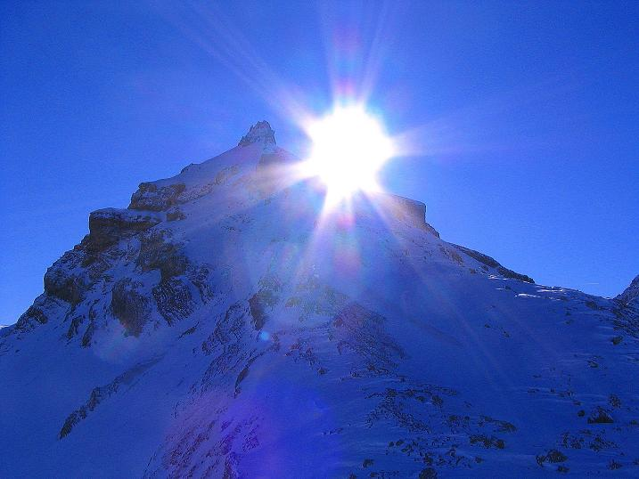 Foto: Andreas Koller / Ski Tour / Von der Engstligenalp auf das Chindbettihorn (2691m) / Tierhöri (2894 m) / 09.01.2009 23:47:28