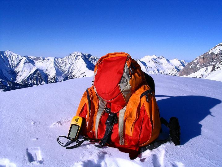 Foto: Andreas Koller / Ski Tour / Von der Engstligenalp auf das Chindbettihorn (2691m) / Am Chindbettihorn-Gipfel / 09.01.2009 23:47:12
