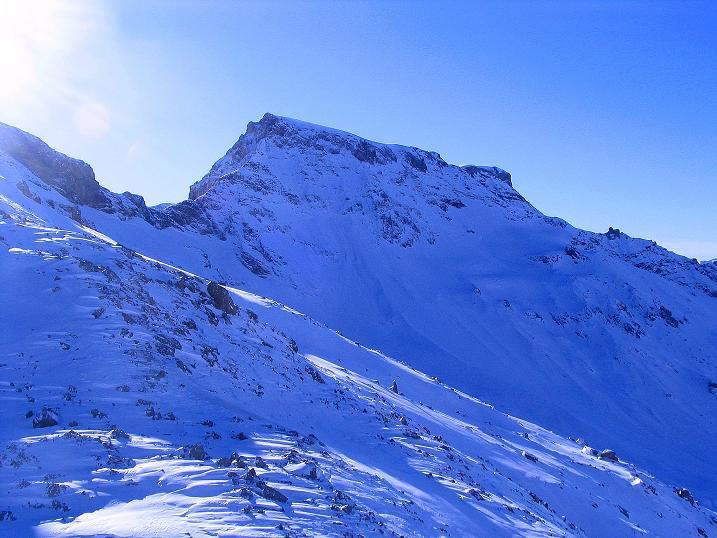 Foto: Andreas Koller / Ski Tour / Von der Engstligenalp auf das Chindbettihorn (2691m) / Großstrubel (3243 m) / 09.01.2009 23:46:13
