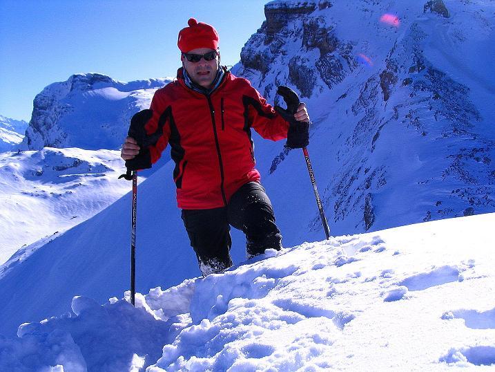 Foto: Andreas Koller / Ski Tour / Von der Engstligenalp auf das Chindbettihorn (2691m) / 09.01.2009 23:45:55