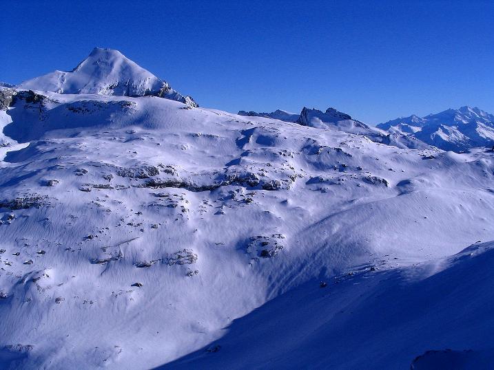 Foto: Andreas Koller / Ski Tour / Von der Engstligenalp auf das Chindbettihorn (2691m) / Berner Alpen / 09.01.2009 23:43:27