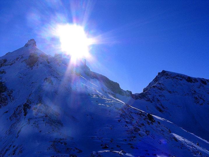 Foto: Andreas Koller / Ski Tour / Von der Engstligenalp auf das Chindbettihorn (2691m) / 09.01.2009 23:43:12