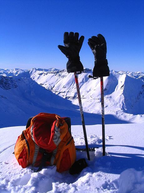 Foto: Andreas Koller / Ski Tour / Von der Engstligenalp auf das Chindbettihorn (2691m) / 09.01.2009 23:42:32