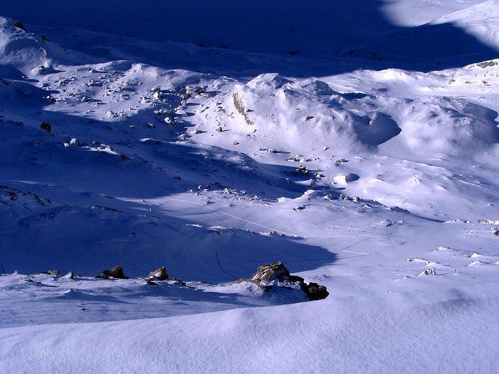 Foto: Andreas Koller / Ski Tour / Von der Engstligenalp auf das Chindbettihorn (2691m) / 09.01.2009 23:42:06