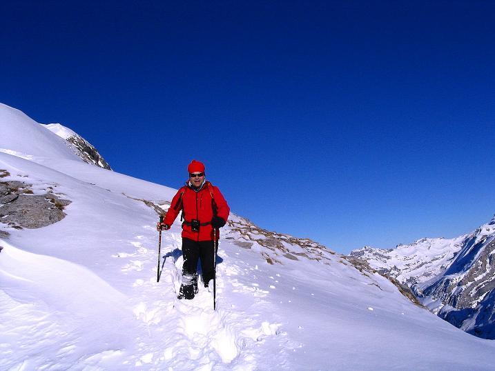 Foto: Andreas Koller / Ski Tour / Von der Engstligenalp auf das Chindbettihorn (2691m) / 09.01.2009 23:39:19