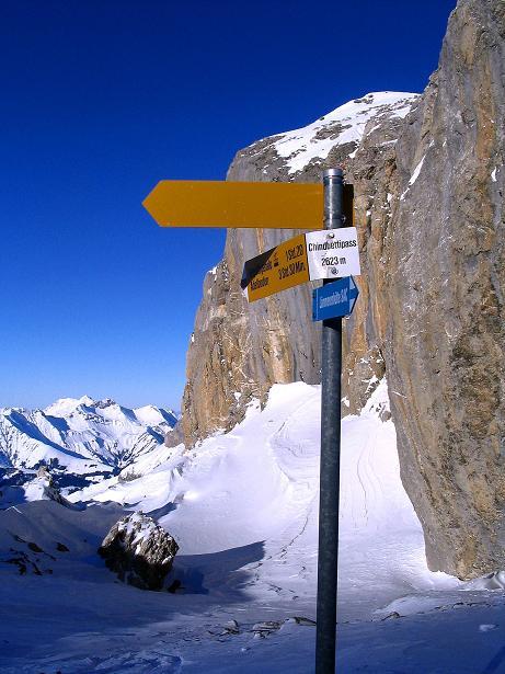Foto: Andreas Koller / Ski Tour / Von der Engstligenalp auf das Chindbettihorn (2691m) / 09.01.2009 23:38:44