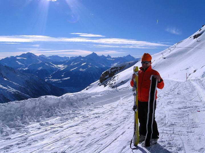 Foto: Andreas Koller / Ski Tour / Von der Lauchernalp aufs Hockenhorn (3293m) / 12.01.2009 19:39:18