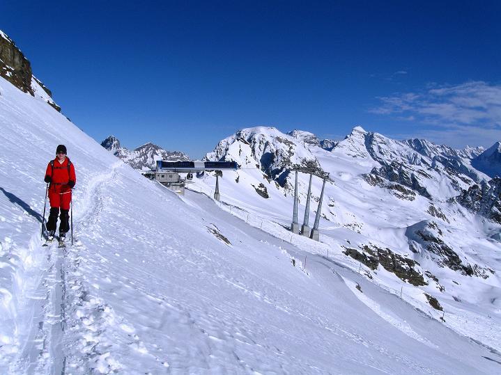 Foto: Andreas Koller / Ski Tour / Von der Lauchernalp aufs Hockenhorn (3293m) / 12.01.2009 19:38:31
