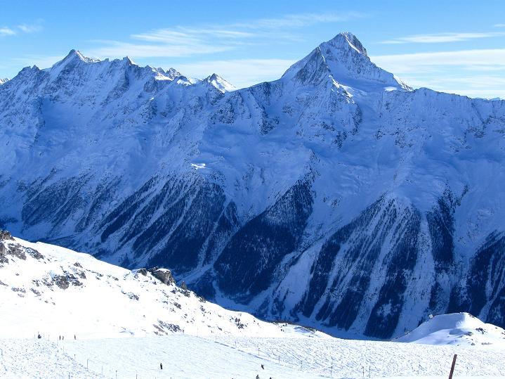 Foto: Andreas Koller / Ski Tour / Von der Lauchernalp aufs Hockenhorn (3293m) / Bietschhorn (3934 m) / 12.01.2009 19:36:28