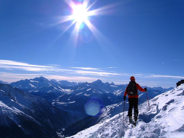 Foto: Andreas Koller / Ski Tour / Von der Lauchernalp aufs Hockenhorn (3293m) / 12.01.2009 19:35:34