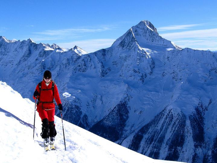 Foto: Andreas Koller / Ski Tour / Von der Lauchernalp aufs Hockenhorn (3293m) / Bietschhorn (3934 m) / 12.01.2009 19:34:45