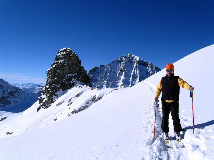 Foto: Andreas Koller / Ski Tour / Von der Lauchernalp aufs Hockenhorn (3293m) / Kleinhockenhorn (3163 m) und Balmhorn (3698 m) / 12.01.2009 19:34:31