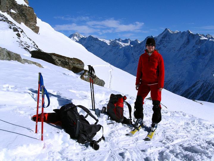 Foto: Andreas Koller / Ski Tour / Von der Lauchernalp aufs Hockenhorn (3293m) / 12.01.2009 19:33:51