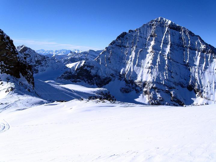 Foto: Andreas Koller / Ski Tour / Von der Lauchernalp aufs Hockenhorn (3293m) / Balmhorn (3698 m) / 12.01.2009 19:33:43