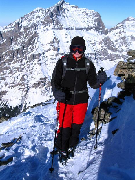 Foto: Andreas Koller / Ski Tour / Von der Lauchernalp aufs Hockenhorn (3293m) / 12.01.2009 19:32:11