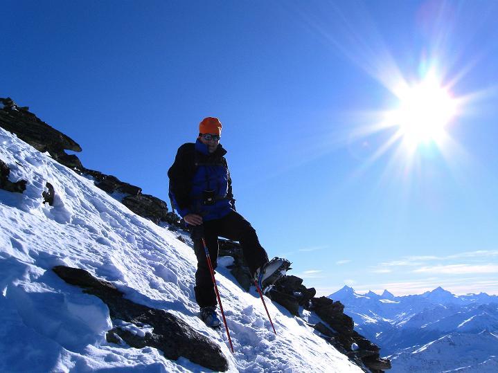 Foto: Andreas Koller / Ski Tour / Von der Lauchernalp aufs Hockenhorn (3293m) / 12.01.2009 19:32:02