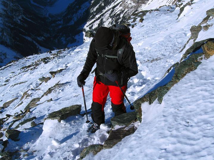 Foto: Andreas Koller / Ski Tour / Von der Lauchernalp aufs Hockenhorn (3293m) / 12.01.2009 19:31:33