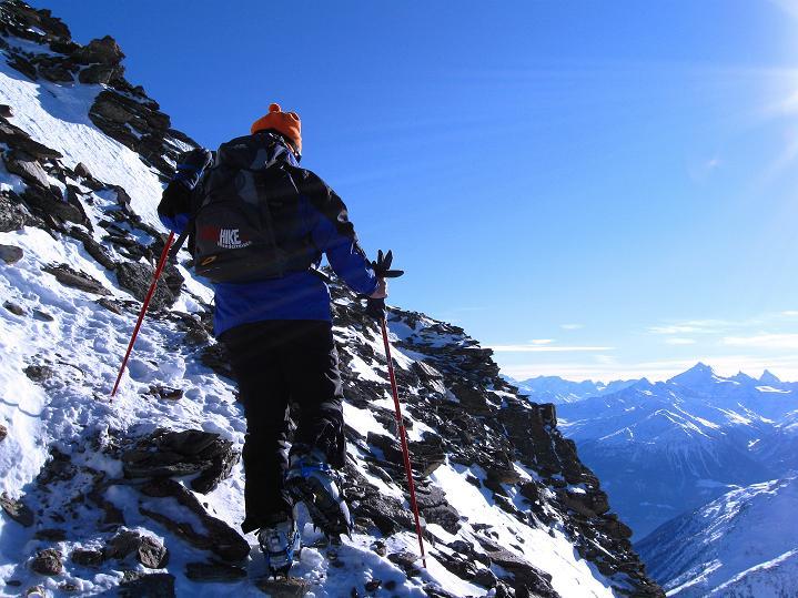 Foto: Andreas Koller / Ski Tour / Von der Lauchernalp aufs Hockenhorn (3293m) / 12.01.2009 19:31:24