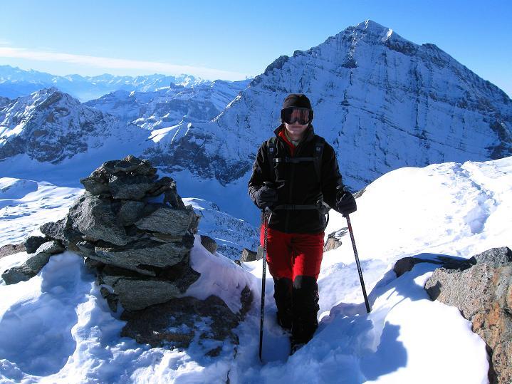 Foto: Andreas Koller / Ski Tour / Von der Lauchernalp aufs Hockenhorn (3293m) / Balmhorn (3698 m) / 12.01.2009 19:30:58