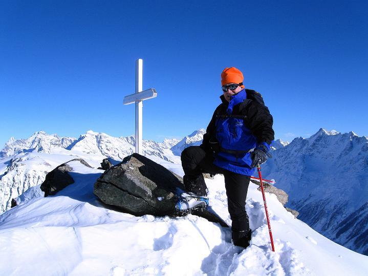 Foto: Andreas Koller / Ski Tour / Von der Lauchernalp aufs Hockenhorn (3293m) / 12.01.2009 19:30:37