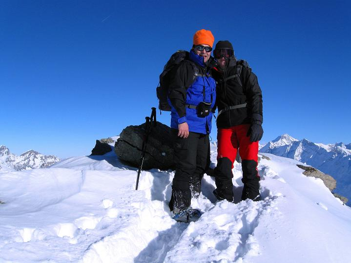 Foto: Andreas Koller / Ski Tour / Von der Lauchernalp aufs Hockenhorn (3293m) / 12.01.2009 19:30:19