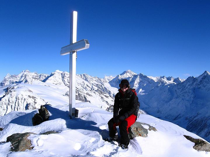 Foto: Andreas Koller / Ski Tour / Von der Lauchernalp aufs Hockenhorn (3293m) / Berner Alpen / 12.01.2009 19:30:07