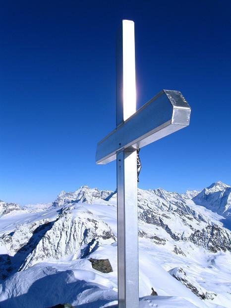 Foto: Andreas Koller / Ski Tour / Von der Lauchernalp aufs Hockenhorn (3293m) / 12.01.2009 19:29:21