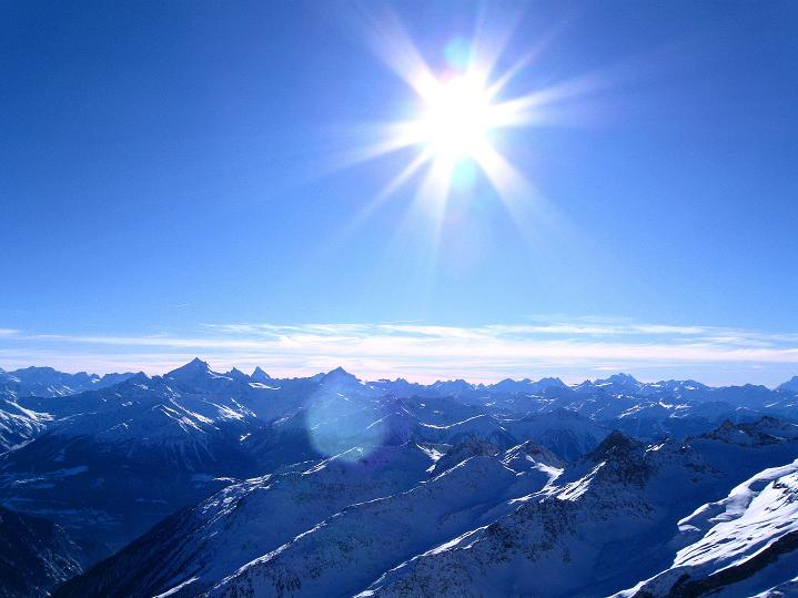 Foto: Andreas Koller / Ski Tour / Von der Lauchernalp aufs Hockenhorn (3293m) / 12.01.2009 19:28:41