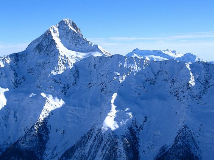 Foto: Andreas Koller / Ski Tour / Von der Lauchernalp aufs Hockenhorn (3293m) / Bietschhorn (3934 m) / 12.01.2009 19:28:25